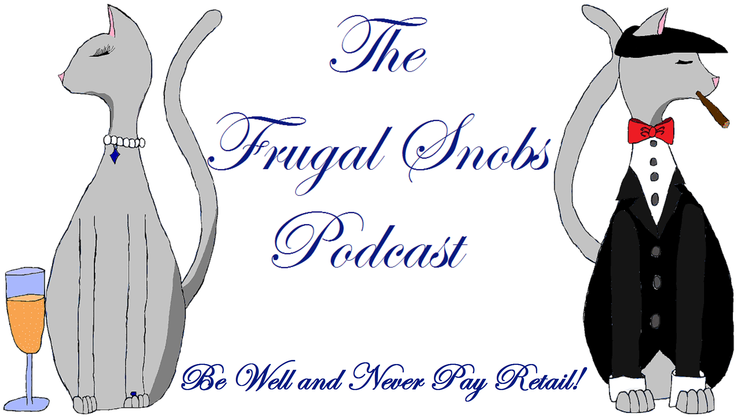 The Frugal Snobs Podcast Logo